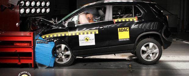 Chevrolet Trax obtine punctaj maxim la testele de impact facute de Euro NCAP