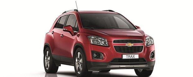Chevrolet Trax, pregatit pentru premiera mondiala de la Paris