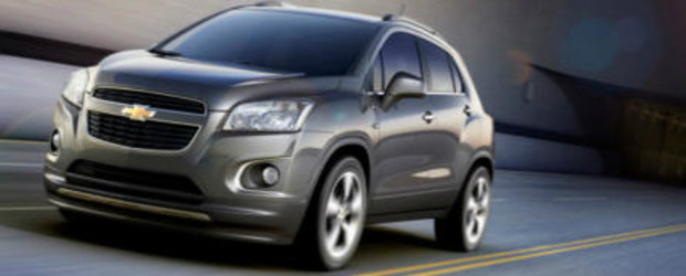 Chevrolet Trax - Primele detalii oficiale