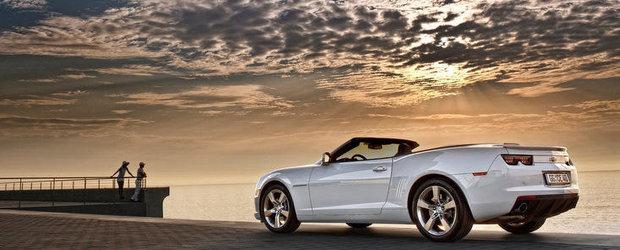 Chevrolet va mai livra inca 2 Camaro Cabriolet in Romania