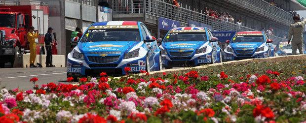 Chevrolet va parasi Campionatul Mondial de Turisme la sfarsitul sezonului 2012