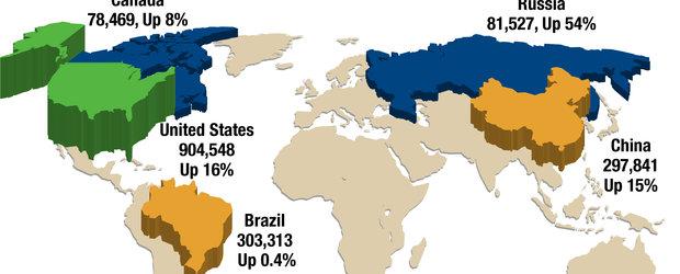 Chevrolet, vanzari record: 2,35 de milioane de autovehicule in primul semestru al anului 2011