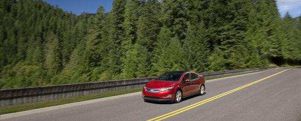Chevrolet Volt a fost desemnat Masina ecologica a anului 2011