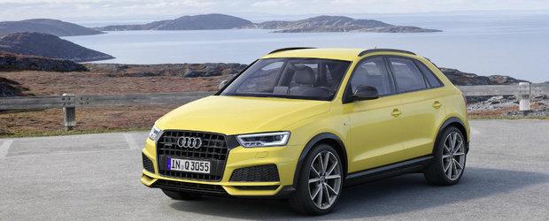Chiar inainte de a fi inlocuit, Audi-ul Q3 primeste un facelift si o noua editie speciala