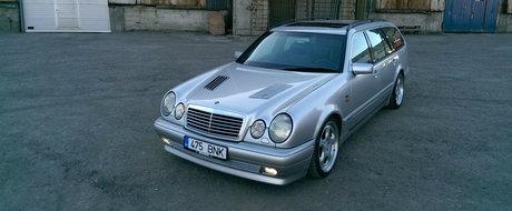 Chilipir mai mare ca asta nu exista. Un Brabus cu motor V8 de 6.0 litri se vinde pentru doar 13.500 euro
