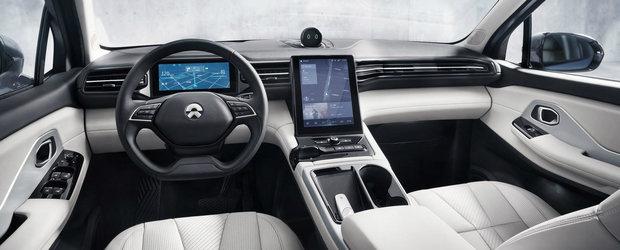 Chinezii au lansat pe piata cea mai ieftina masina noua cu 643 CP sub capota. Cat costa NIO ES8