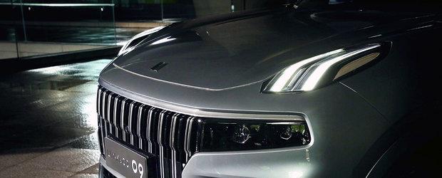 Chinezii care au cumparat Volvo au lansat o noua masina pe piata. Primele imagini oficiale au fost publicate chiar acum