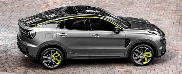 Chinezii care au cumparat Volvo lanseaza un nou SUV Coupe pe piata