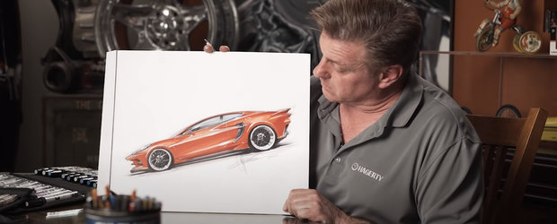 Chip Foose crede ca asa ar fi trebuit sa arate, de fapt, primul Corvette cu motor central din istorie