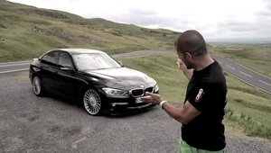 Chris Harris ia la testat noul Alpina B3