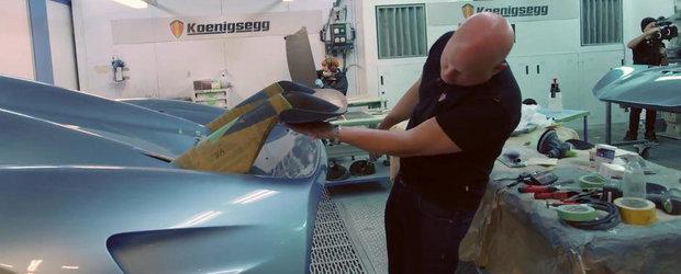 Christian von Koenigsegg ne arata cum functioneaza eleronul noului Regera