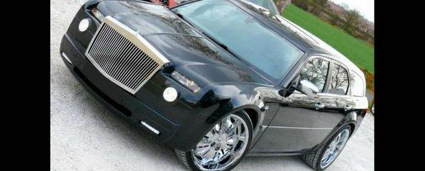 Chrysler 300C cu masca de Rolls-Royce