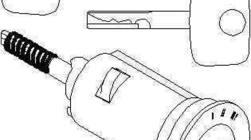 cilindru de inchidereaprindere OPEL CALIBRA A 85 TOPRAN 205 166