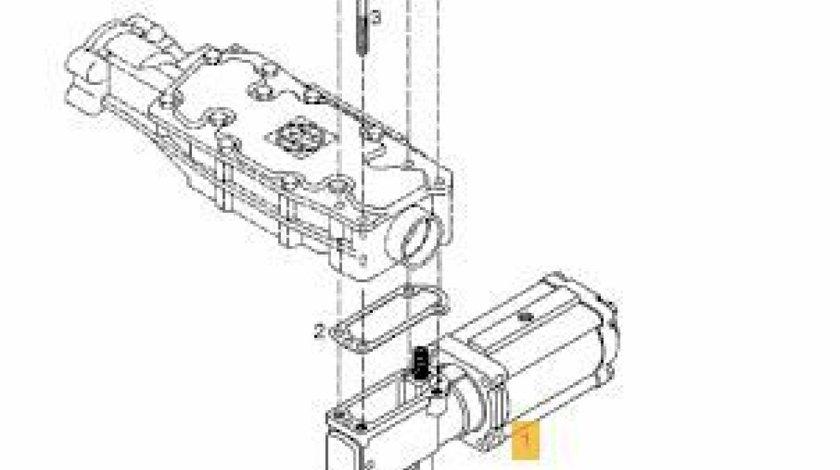 Cilindru servoshift cutie viteze ZF Ecosplit III Man TGS 8x4 MAN OE 81326906014