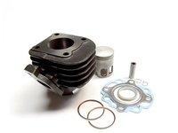 Cilindru / Set motor Yamaha/Aprilia 80 cc (orizontal) 2T -47 mm - NOU!