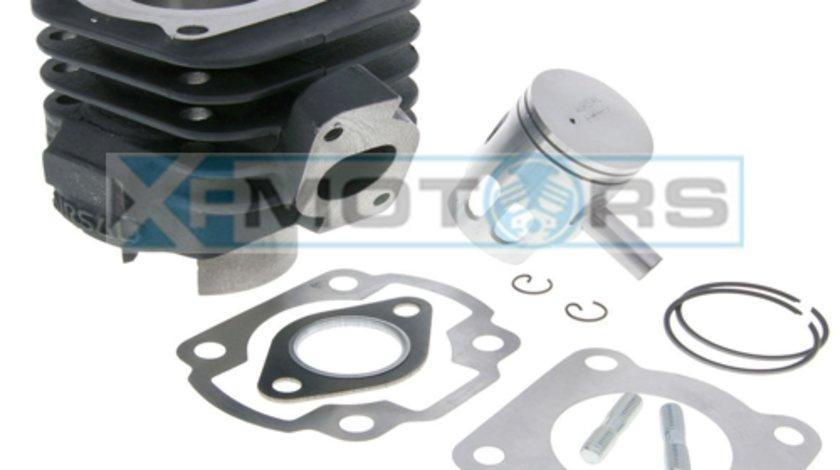 Cilindru - Set motor Yamaha / Aprilia / MBK / Malaguti 80cc (Orizontal) 2T - 47 mm
