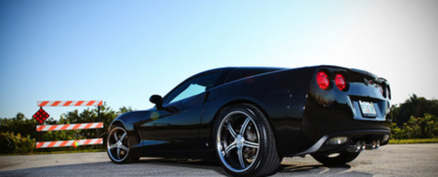 Cinderella gone BAD: Corvette C6 incaltata de Vossen