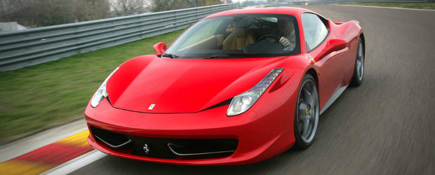 Cine a taiat si a aruncat la gunoi un Ferrari 458? Va dam un indiciu: e un constructor japonez