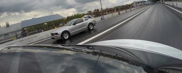 Cine are nevoie de un Mustang Turbo atunci cand exista Tesla P85D?