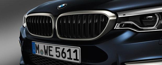 Cine il poate opri? Noul BMW M550d xDrive are patru turbine si 400 cai putere