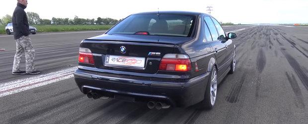 Cine nu si-ar dori un BMW M5 de 950 de cai? Ia uite-l in actiune