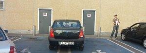 Cine parcheaza fara drept pe locurile de parcare destinate persoanelor cu dizabilitati ia 10.000 lei amenda