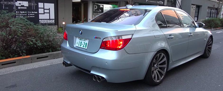 Cineva a montat o evacuare de 14000$ pe un BMW M5. Masina bavareza suna acum exact ca un monopost de Formula 1!
