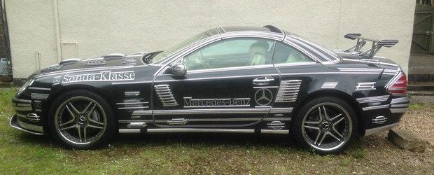 """Cineva a oferit aproape 5.000 de euro pe acest Mercedes din 2004. """"Este unicat si atrage toate privirile"""""""