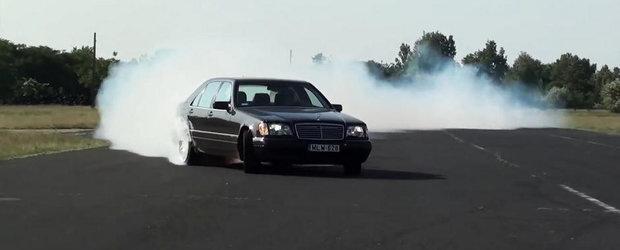 Cineva 's-a jucat' cu vechiul Mercedes W140 pana ce-a scos 860 CP si 1190 Nm