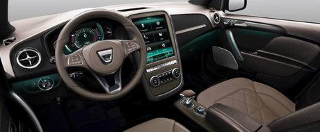 Cineva si-a imaginat cum ar arata LOGANUL cu faruri full-LED, dotari premium si interior de Mercedes