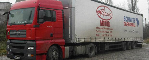 Circulatia autovehiculelor grele, interzisa temporar din cauza caniculei