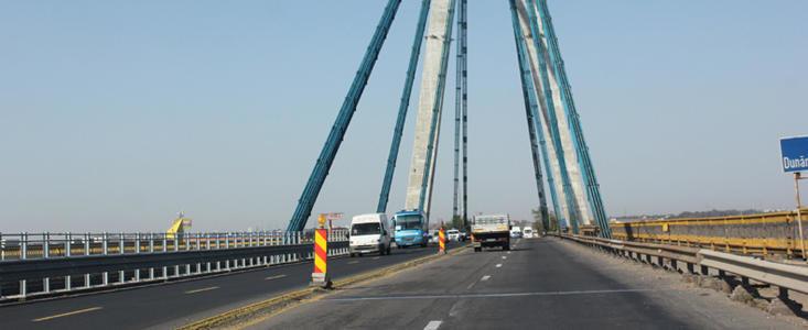 Circulatia pe podul de la Agigea, restrictionata pana pe 15 decembrie