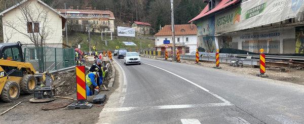Circulatia pe unul dintre cele mai aglomerate drumuri din Romania a fost restrictionata pana la iarna