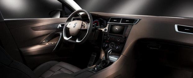 Citroen a prezentat noul sedan de lux DS 5LS