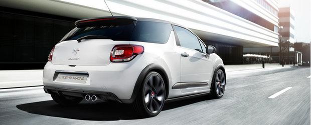 Citroen anunta varianta DS3 Racing, o masinuta de 207 cp si 30.000 Euro!