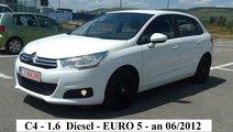 Citroen C4 1.6 Hdi EURO 5 2012