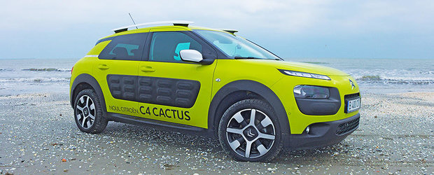 Citroen Cactus castiga la New York titlul de '2015 WORLD CAR DESIGN OF THE YEAR'
