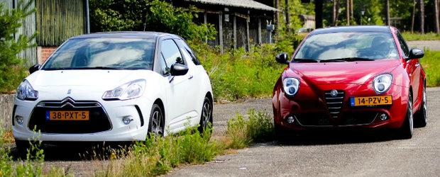 Citroen DS3 versus Alfa Romeo MiTo