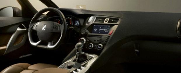 Citroen DS5 ne ofera o noua panorama asupra interiorului sau