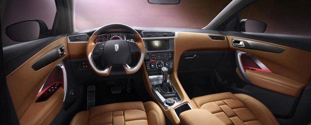 Citroen publica primele imagini interioare ale SUV-ului DS 6WR