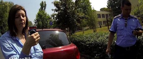 Ciupacabra asta de soferita loveste biciclistii dupa bunul plac in Bucuresti