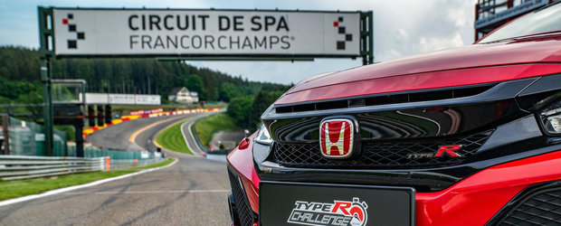 Civic Type R continua sa faca istorie. Modelul nipon a batut recordul de circuit la categoria sa pe Spa Francorchamps