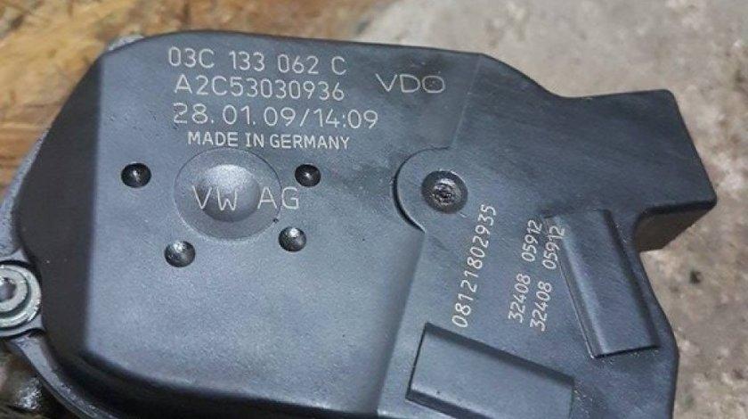 Clapeta acceleratie 03c133062c seat toledo III 1.4i 16v bxw 86 cai