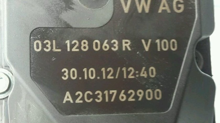 Clapeta acceleratie 03L128063R, Skoda Octavia 2, 2.0tdi