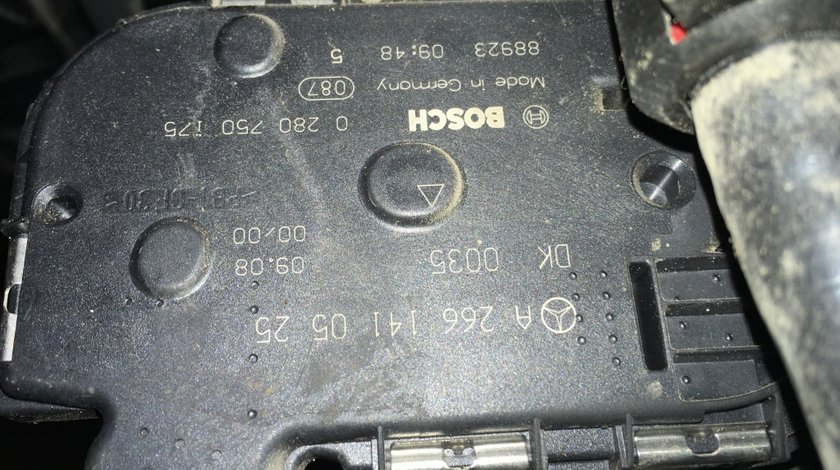 Clapeta acceleratie A2661410525 Mercedes C 180 Cgi w204 an 2011