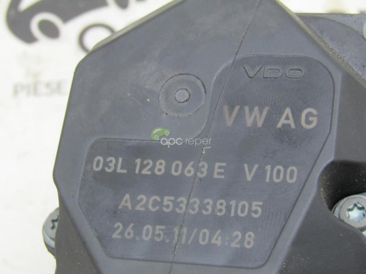 Clapeta acceleratie Audi A6 4G Facelift an 2011 cod 03L128063E