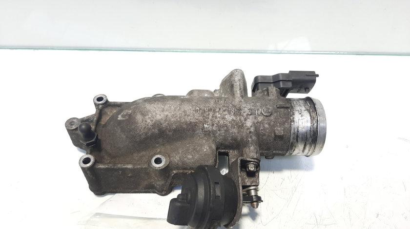 Clapeta acceleratie, cod 55350621, Opel Astra G Combi (F35), 2.2 DTI, Y22DTR