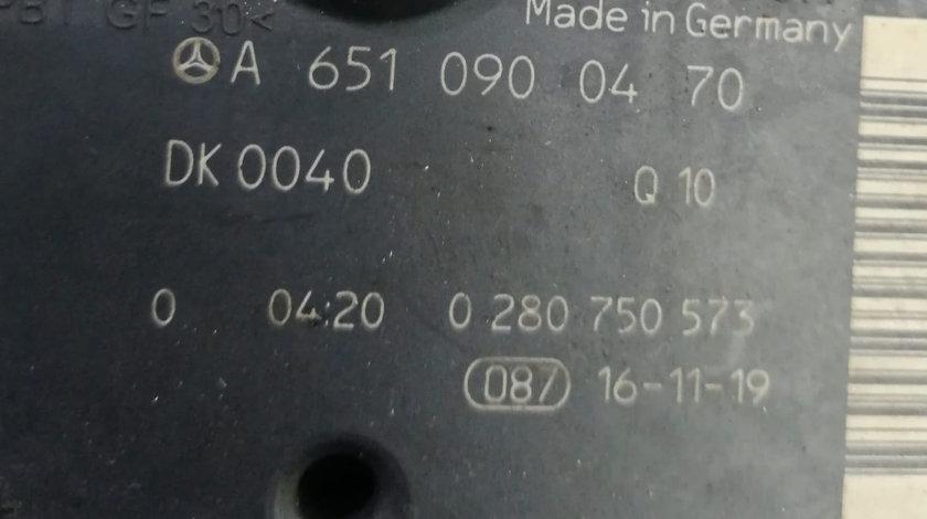 Clapeta acceleratie Mercedes 2.2 CDI Euro 5 A6510900470