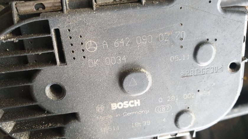 Clapeta Acceleratie Mercedes S350CDI W221 motor 3.0 diesel euro 6 cod A6420900270