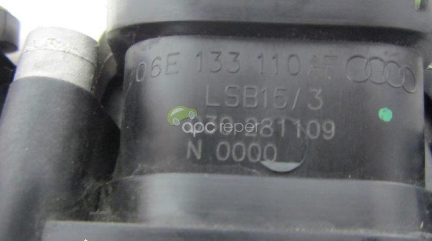 Clapeta admisie dreapta originala Audi A4 A5 A6 A7 cod 06E133110AF